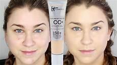 It Cosmetics Cc Cream Light It Cosmetics Your Skin But Better Cc Cream Demo