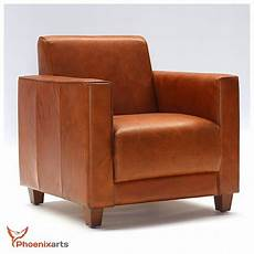design sessel retro look vintage echtleder ledersessel braun design sessel lounge