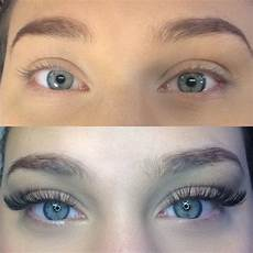 before and after eyelash extensions gallery lash
