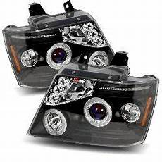 Foster Light Truck Parts 07 09 Chevy Avalanche Halo Led Projector Headlights