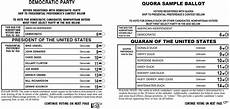 Voting Ballot Template For Word How To Create A Ballot Template In Word Quora