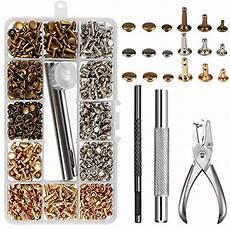 Leder Nieten Set Werkzeug by Top 9 Leder Werkzeug Set Locher Knilok