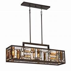 Lowes Overhead Lights Quoizel Crossing 8 25 In W 4 Light Bronze Kitchen Island
