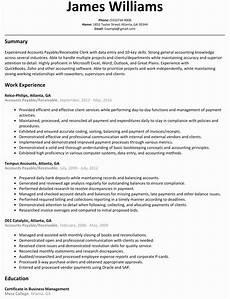 Accounts Receivable Resume Accounts Payable And Receivable Resume Elegant Luxury