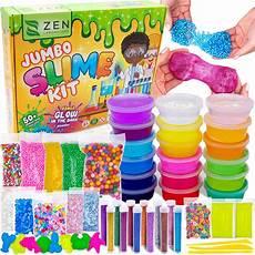diy slime kit for boys ultimate glow in the