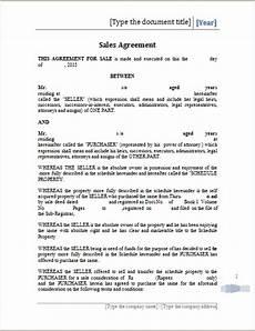 Sales Agreement Template Word Printable Sales Agreement Template Ms Word Word Document