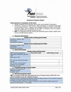 Handover Form 11 Handover Report Examples In Pdf Google Docs Ms
