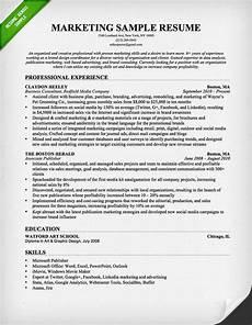 Sales Marketing Resume Sample Salesperson Amp Marketing Cover Letters Resume Genius