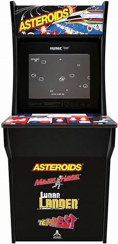 best buy arcade1up asteroids arcade cabinet black