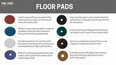 Burnishing Pad Color Chart Floor Buffing Pad Color Chart Bruin Blog