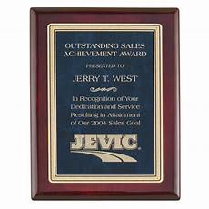 Appreciation Award Rosewood Appreciation Award Plaques