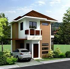 Small 2 Story Floor Plans 50 Low Cost Two Story House Designs For Small Land Area