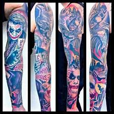batman arm sleeve batman tattoos shoulder tattoos