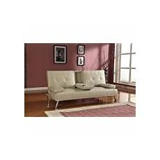 sofa bed in chocolate cotton drill