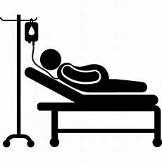 lying on hospital bed free vectors logos