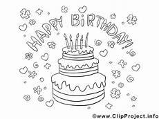 Kostenlose Malvorlagen Geburtstag Bild Zum Ausmalen Geburtstag