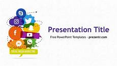 Social Media Ppt Templates Free Social Media Marketing Powerpoint Template Prezentr