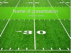 Football Powerpoint Template Football Field Powerpoint Template The Highest Quality