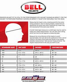youth atv helmet size chart by age sizing chart bell auto racing helmets