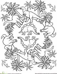 pattern coloring page dinos dinosaurukset v 228 ritys ja muste