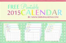 Free Monthly Printable Calendar 2015 Free Printable Calendars Crafting In The Rain