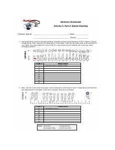 Dental Charting App Dental Worksheet Pdf Dentistry Worksheet Activity 2 Part