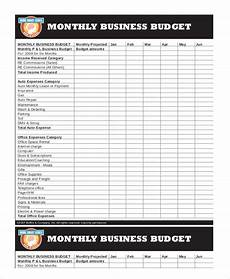 Small Business Budget Worksheet Printable Monthly Budget Template 21 Free Excel Pdf