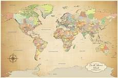 Printable Map With Pins Cotton Anniversary Gift Push Pin World Map Travel World