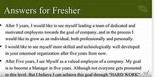 Five Years From Now Friskila English Course Where Do You See Yourself After 5