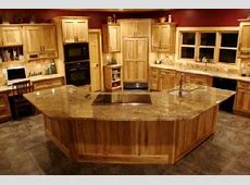 Rustic Knotty Hickory Kitchen Cabinets   Lodge home is Rustic Hickory.   Kitchen Ideas