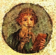 lienzo de fresco griego safo 60x60 cm reproducci 243 n lienzos