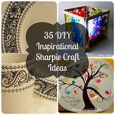 crafts sharpie 35 diy inspirational sharpie craft ideas
