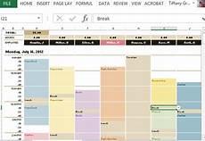 Scheduling Template In Excel Excel Schedule Template Hourly Printable Schedule Template