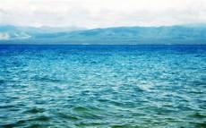 mar azul el mar azul paisaje marino wallpaper fondos de