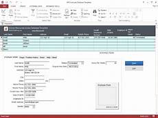 Ms Access Database Template Hr Employee Ms Access Database Template Download