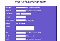 Registration Form Template In Html Registration Form Optimization 9 Best Practices For