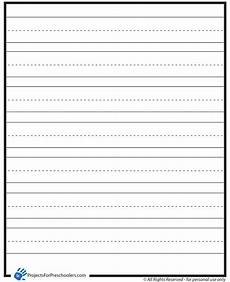 Printable Lined Paper For Kindergarten Lined Paper Projects For Preschoolers