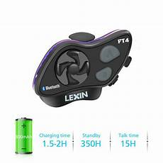 Scooter With Music And Light Instructions 1x Lexin Ft4 Scooter Amp Snowmobile Bluetooth Helmet