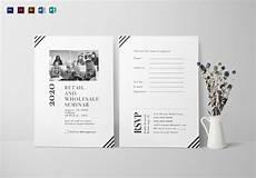 Seminar Invitation Card Sample Seminar Invitation Card Design Template In Psd Word