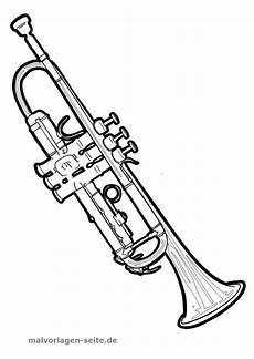 malvorlage trompete malvorlagen trompete und ausmalen