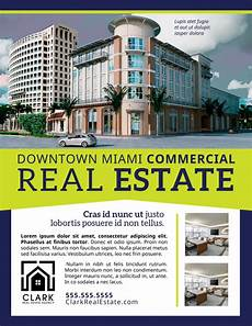Commercial Real Estate Templates Commercial Real Estate Flyer Template Mycreativeshop