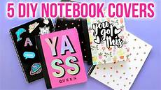 Cover Page For Notebook 5 Easy Diy Notebook Covers Back To School 2018 Hgtv