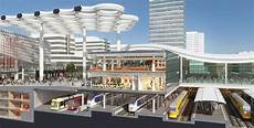 Design Utrecht Utrecht Station S New Retail Pavilion Will Include The