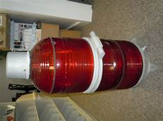 Tower Light Flasher Twr Red Radio Tower Glass Beacon Obstruction Light Flasher