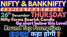 Nifty Option Premium Chart Bank Nifty Amp Nifty Tomorrow 26th December 2019 Daily Chart