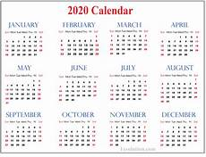 2020 Blank Calendar Pdf Blank Calendar 2020 For New Year Schedule Calendar