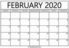 february 2020 calendar events february 2020 calendar printable template builderkraft