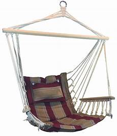 and striped hanging hammock swing chair with