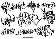 vector graffiti tags free vectors clipart