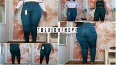 Fashion Nova Size Chart Fashion Nova Plus Size Jeans Try On Review 3xl Youtube